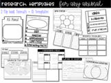 Non-Fiction Animal Research Generic Templates