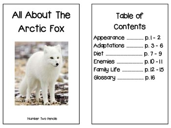 Non- Fiction Arctic Fox Reader