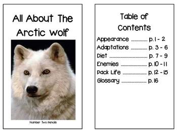 Non- Fiction Arctic Wolf Reader