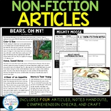 Non-Fiction Articles: Animals