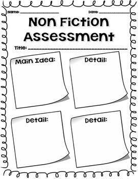 Non Fiction Assessment