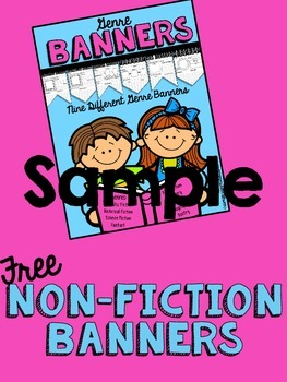 Non-Fiction Banner Free Sample