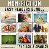 SPANISH Non-Fiction Beginning Readers Bundle (12 Bilingual Books Included)