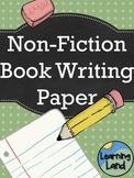 Non-Fiction Book Paper Templates