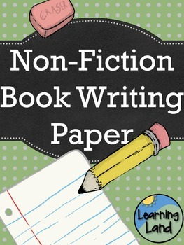 Non-Fiction Book Paper Templates
