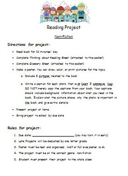 Non Fiction Book Project