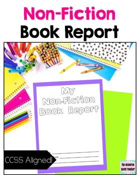 Non-Fiction Book Report (CCSS Aligned!)