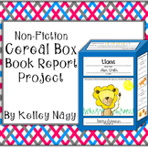 Non-Fiction Book Report Cereal Box Project
