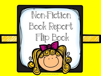 Non-Fiction Book Report Flipbook