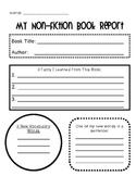 Non-Fiction Book Report Organizer
