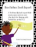 Non-Fiction Book Report for Primary Grades