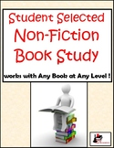 Non Fiction Book Study - for Any Book at Any Level