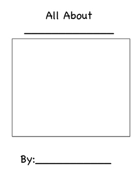 Non- Fiction Animal Book Template