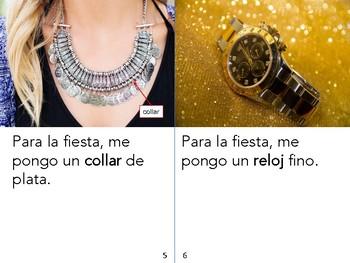 Non-Fiction Book in Spanish Level D - Ropa elegante