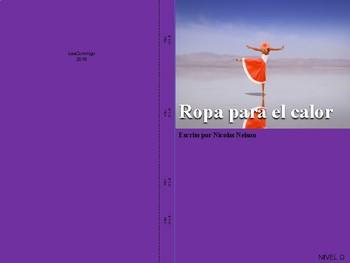 Non-Fiction Book in Spanish Level D - Ropa para el calor