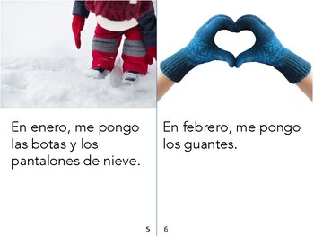 Non-Fiction Book in Spanish Level D - Ropa para el frío