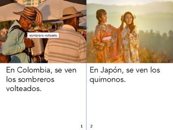 Non-Fiction Book in Spanish Level D - Ropa tradicional