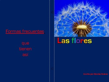 Non-Fiction Book in Spanish Level F - Las flores