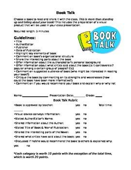 Nonfiction Booktalk Report