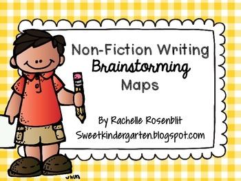 Non-Fiction Brainstorming Maps for Writing