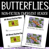 Insect Emergent Reader: All About Butterflies