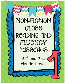 Nonfiction Close Reading and Fluency Passages {2nd and 3rd