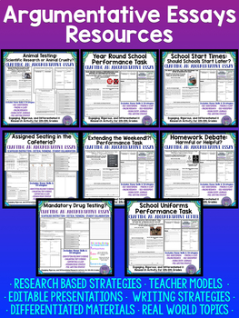 Non-Fiction Close Reading and Writing Tasks Growing Bundle For Middle School ELA