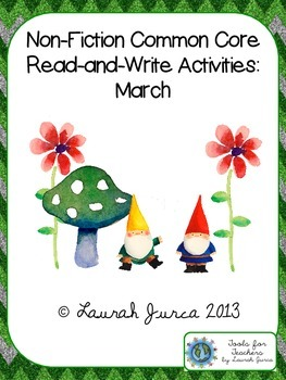 Non-Fiction Common Core Close Reading and Writing: March