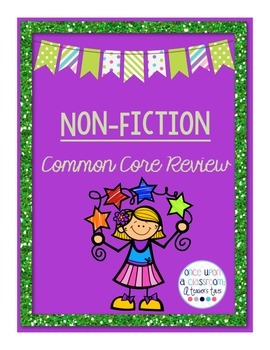 Informational Text Common Core Review