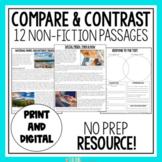 Non-Fiction Compare & Contrast Passages
