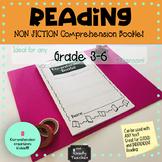 Non Fiction Comprehension Booklet