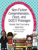 Non-Fiction Comprehension, Cloze, and DAZE Passages (Overc