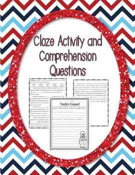 Non-Fiction Comprehension, Cloze, and DAZE Passages (Roosevelt Edition)