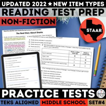 STAAR Reading Passages Non Fiction Practice Tests Set 4