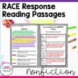 Nonfiction RACE Strategy Practice Passages Grades 3-5-Distance Learning