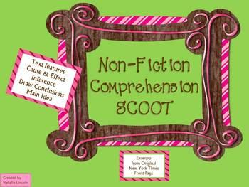 Non-Fiction Comprehension SCOOT