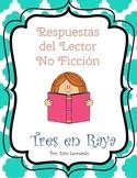 Non-Fiction Comprehension {SPANISH}