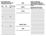 Non-Fiction Comprehension Tri-Fold
