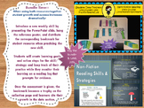 Non Fiction Data Program PowerPoint Posters Bookmarks Reading Log Text Structure