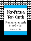 Non-Fiction Dewey Decimal Task Cards - Putting Books in Shelf Order