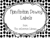 Non-Fiction Dewey Posters For Your Media Center or Library