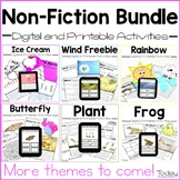 Non-Fiction Digital and Printable Activities Bundle (Dista