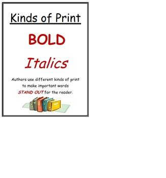 Non Fiction Element Posters Bundle