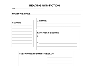Non-Fiction Elements