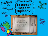 Non Fiction Explorer Report Flipbook {Writing Rubric Included!}