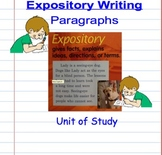 Non-Fiction Expository Paragraph Writing Unit Smart Notebook