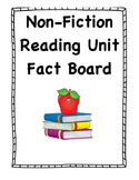 Non-Fiction Fact Board Research Project