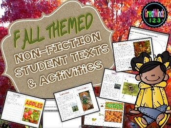Fall Themed Informational Text  (primary)