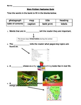 Non-Fiction Feature Assessment
