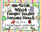 Non-Fiction Foldable Emergent Readers: Oviparous Animals! ~Set of 6 Supports CC!